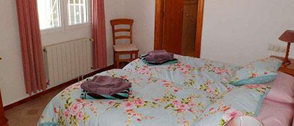 Villa's Master Bedroom