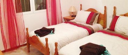 Villa's Twin Bedroom